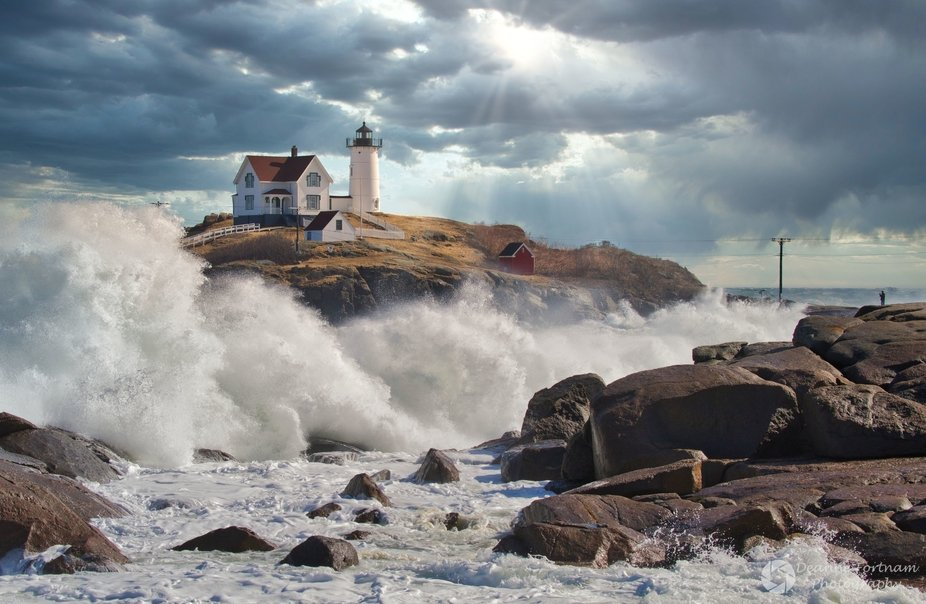 Nubble Lighthouse After the Storm