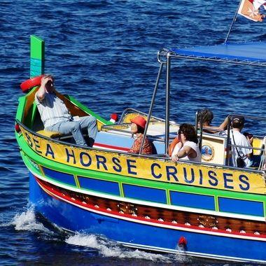 Seahorse Maltese boat colours