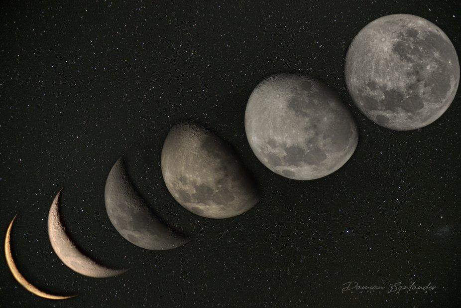 Secuencia Super Luna