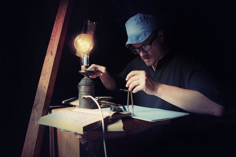 Man locked in house is exploring formula for free energy...