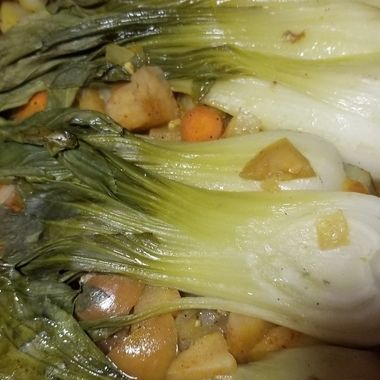 Bokchoy and other vegetables
