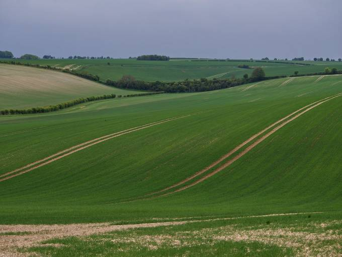 The Lincolnshire Wolds, east England.