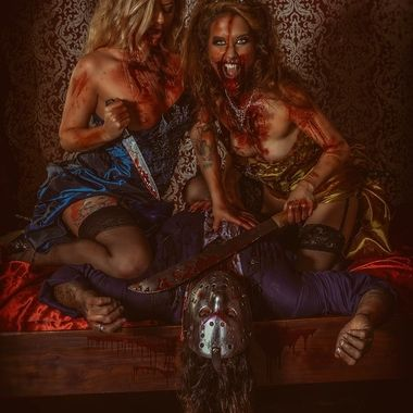 The side of Belle and Cinderella that you don't see! The evil Princesses that are the hunters, hunting the Slasher!