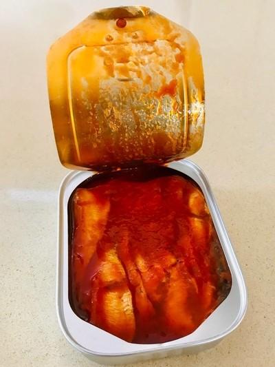 Tin of Scittish Sardines