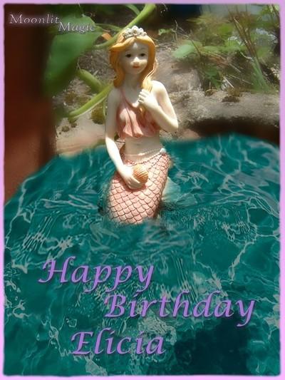 Mermaid Birthday e card