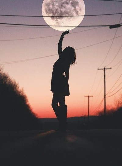 They say a dream can only come true if you wish for it..  i said reach for the moon babygirl.
