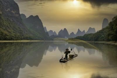 Cormorant fisherman the Li river