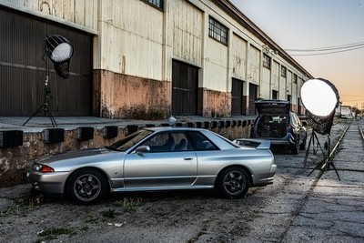 GTR shoot set up