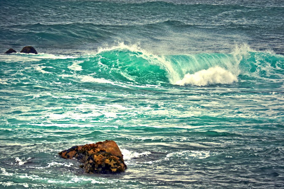 Shot on the Monterey Peninsula, California in Pacific Grove. The water was so many wonderful shad...