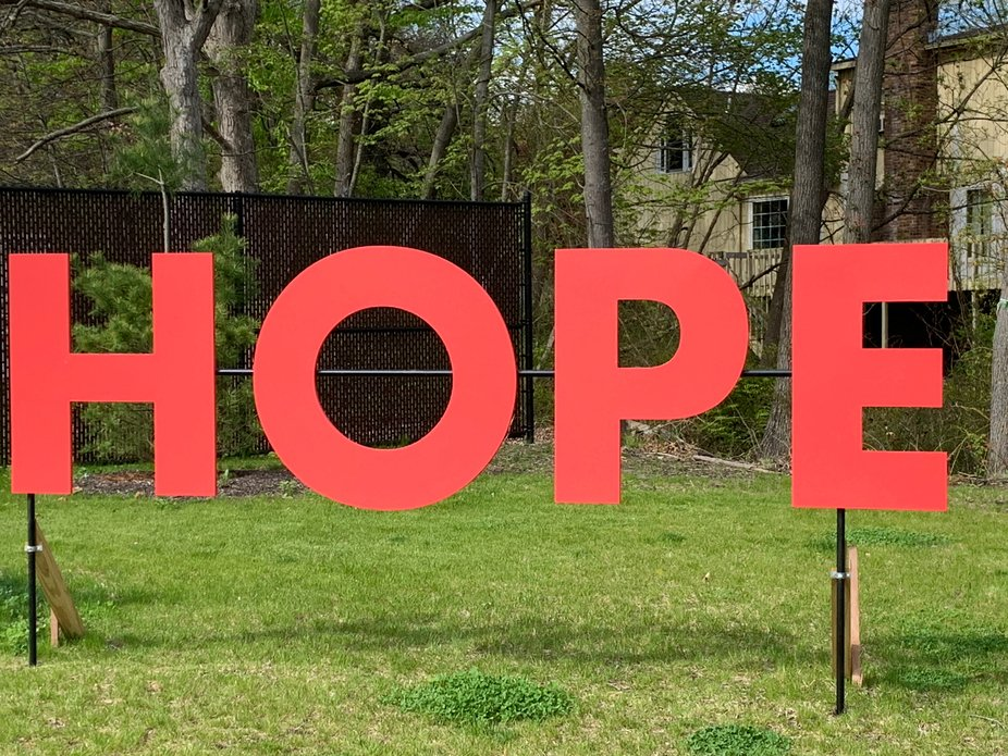 Hope makes not ashamed.