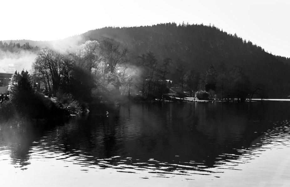 Gérardmer Lake.