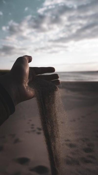 sunset sand photography