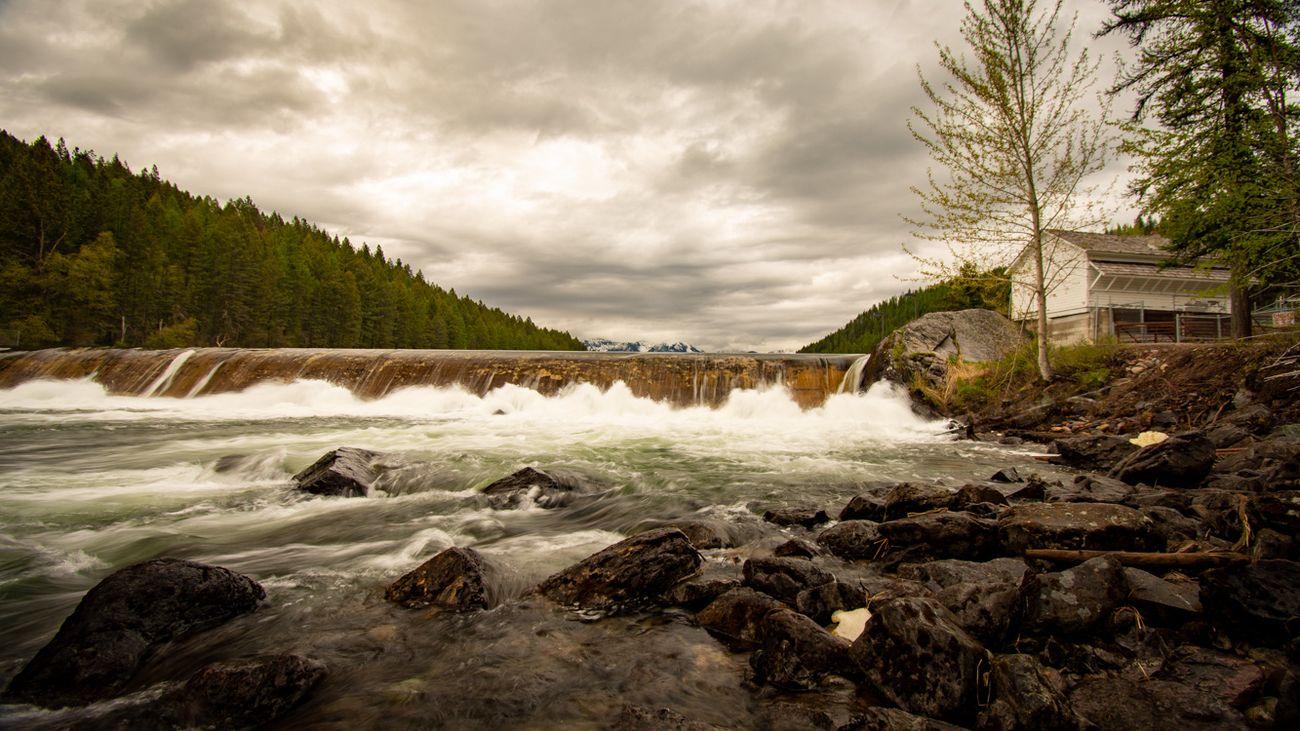Spring Run Off In Montana 2