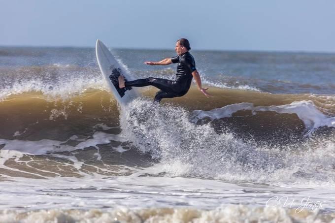 Surfers of Folly Beach