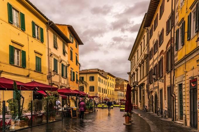 Sunshower in Pisa II