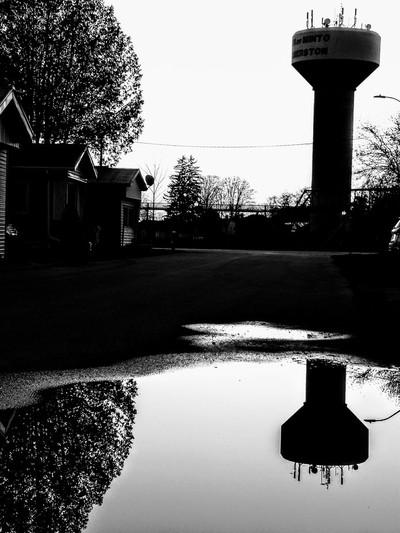 Evening walk reflections