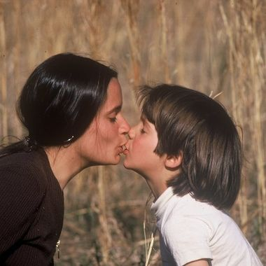 I took this picture in 1970 of my young wife, Maria and our son, Marco. She was 22 years old at the time he was four. It was not posed. I happened to be close by with camera in hand. It was captured on Kodachrome film with a Nikon Nikorrmat with 200mm Prime, a lovely set-up. Today May 20, 2020 is our son's 54th birthday.