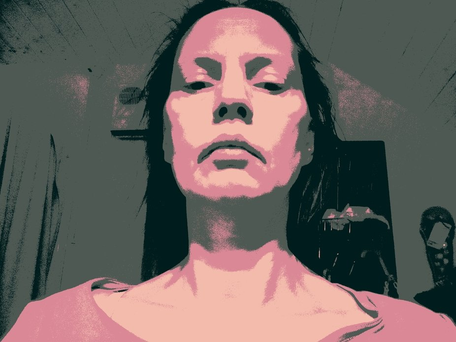 Fiddling around with Photo Manipulation , Colour , Abstraction and Self Portraits , something to ...