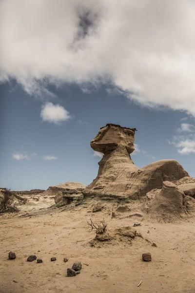 Sphinx of rock