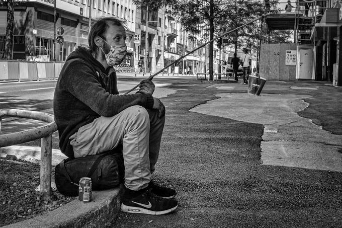 Homeless in Covid-19 time