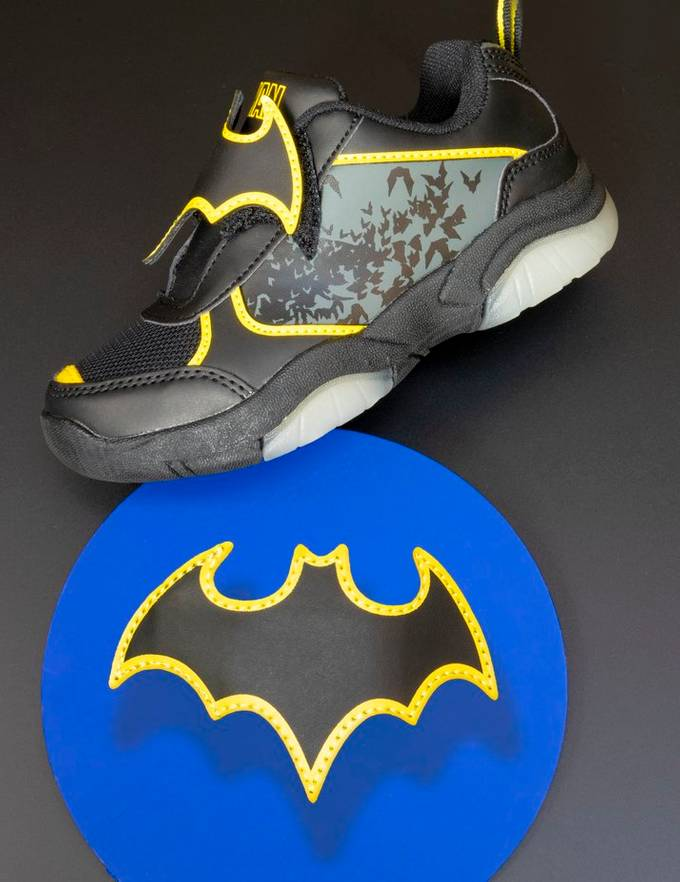 Batman's shoe