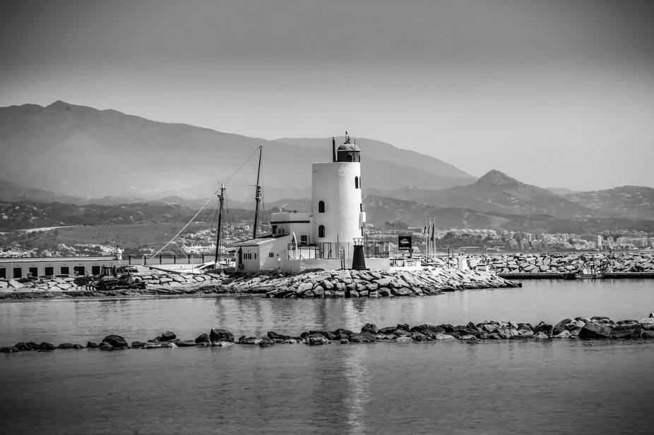 La Duquesa lighthouse