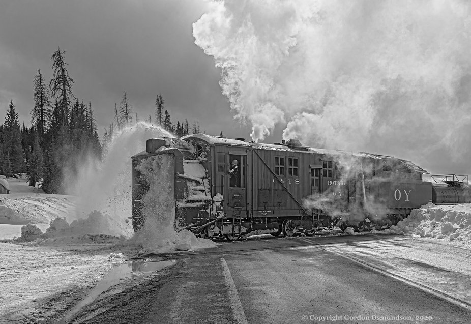 On Feb 29 & Mar 1, 2020 the Cumbres & Toltec Scenic Railroad ran a special trip f...