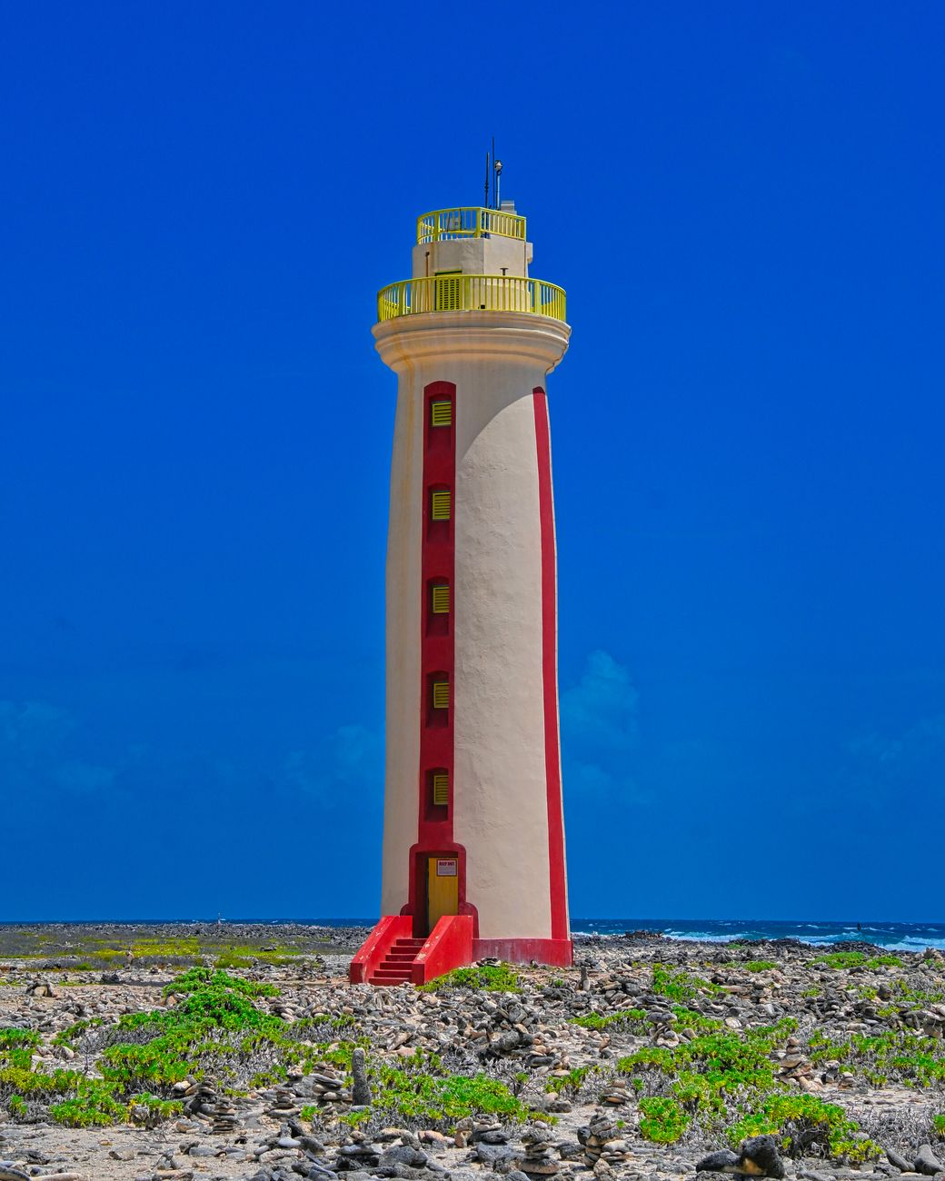 One of 3 active lighthouses on the island of Bonaire.