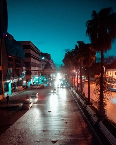 Lattakia📍.....#latakia #syria #nightphotography #streetphotography