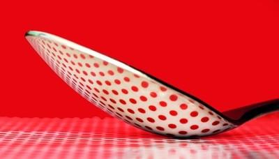spots on a spoon