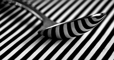 stripy spoon