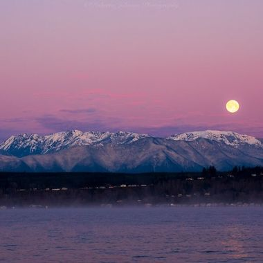 What a beautiful beginning to the day. We are so blessed with beauty in the PNW. Hood Canal, Washington, USA