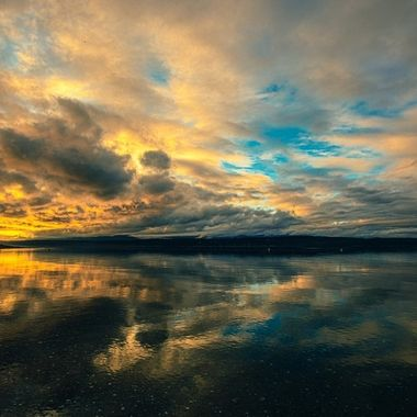 The sky was  absolutely stunning tonight. What an amazing ending to the day. Hood Canal, Washington,USA