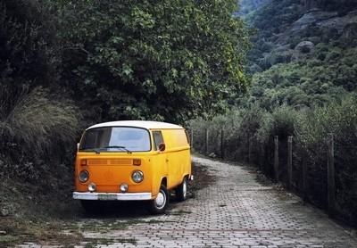 Old-school road trip
