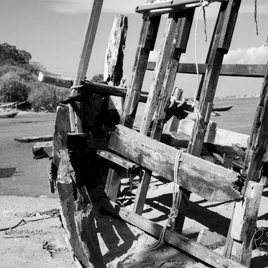 Fisheman boat wreck