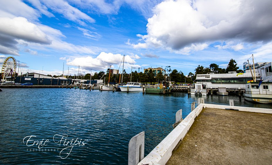 2020 water front Geelong signed