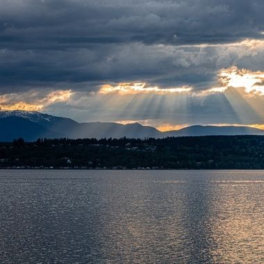 I wanted to share this photo of heavenly rays with you this evening. It feels so fitting for todays mood. Things sure are crazy right now. I hope this will bring you a moment of peace. Hood Canal, Washington, USA