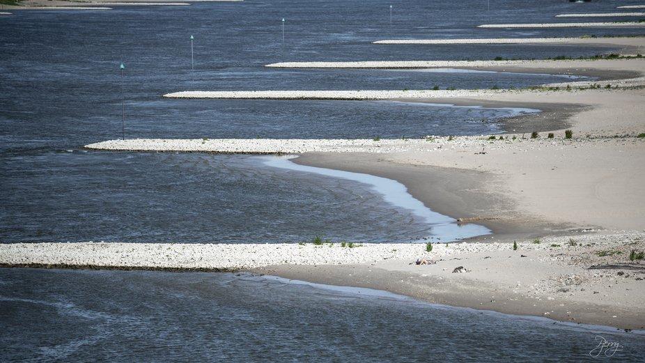 The Waal is the main river in The Netherlands. Near Nijmegen, the Rhine splits between The Rhine ...