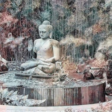 Digital Art - Shambahla Gardens (2)