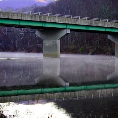 I was so happy one morning taking photos how beautiful the reflections where on the Greenbrier River.