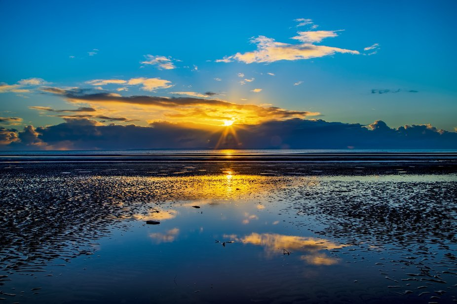 This was taken on a cool winters morning ona sandy beach in Sandgate QLD. I