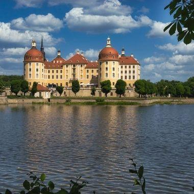 Castle Moritzburg close to Dresden.