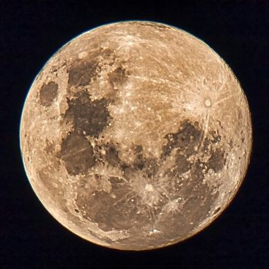 A beautiful full moon 5th June 2020