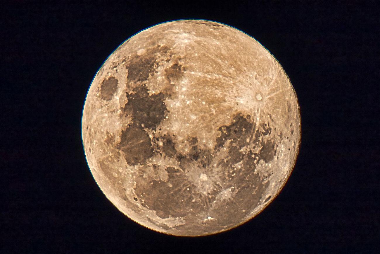 A beautiful full moon 5th June 2020