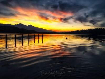 Dark Lake Sunrise