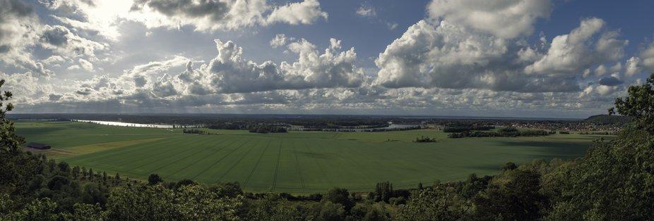A view over a city called vänersborg ( Landscape)
