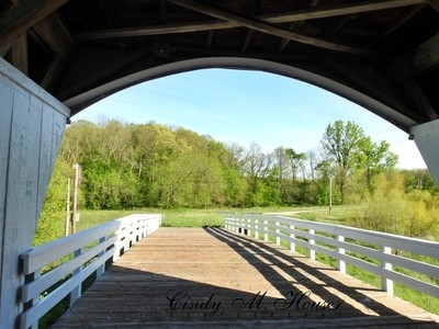 Coming Out Of The Covered Bridge