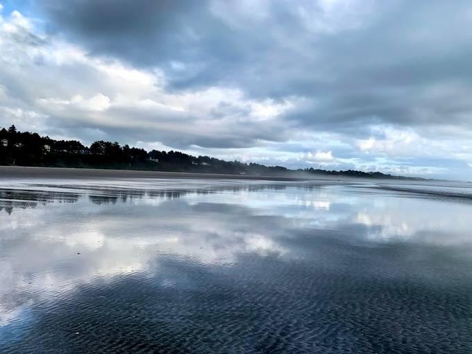 Agate Beach Reflections