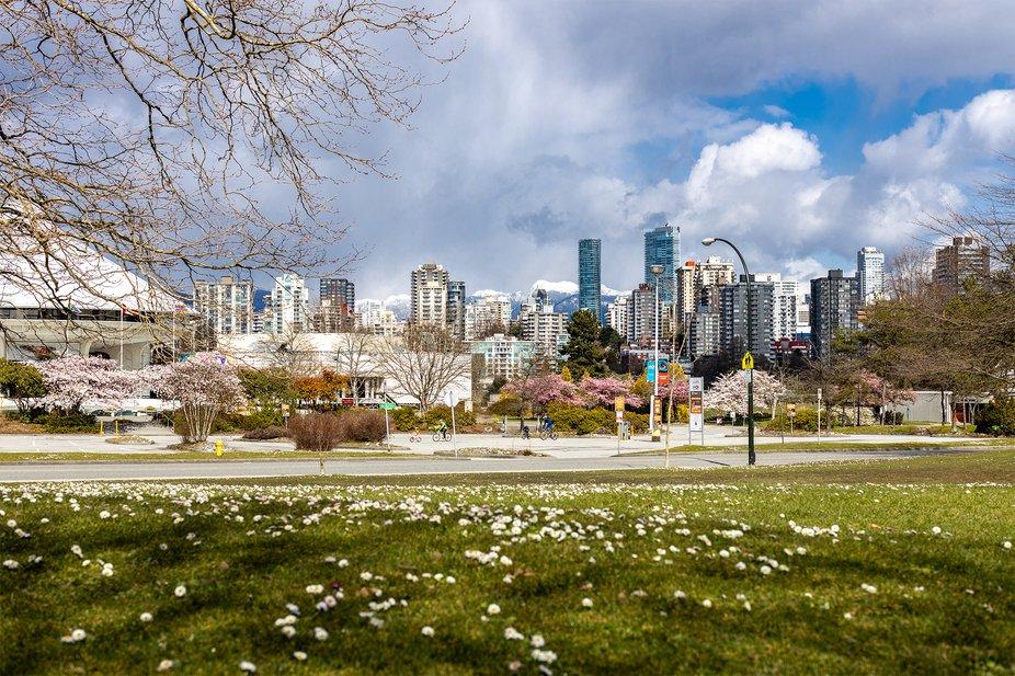 vista de la ciudad de Vancouver