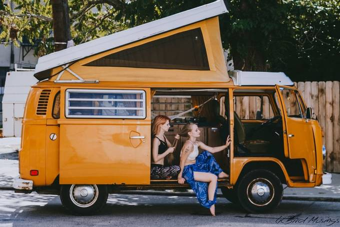 |VW Camper| by sirenawren - Summer Fashion Photo Contest 2020